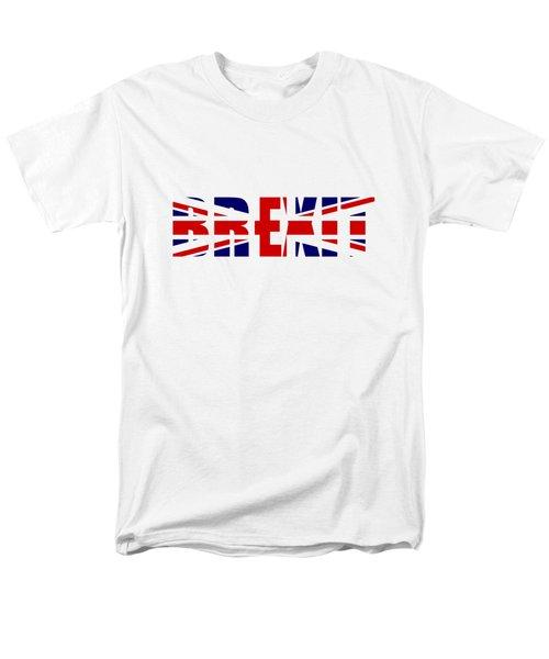 Brexit Men's T-Shirt  (Regular Fit) by Roger Lighterness