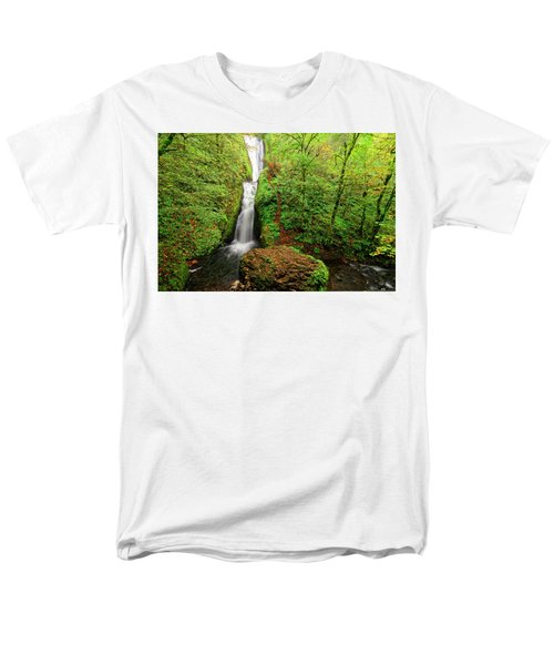 Bridal Veil Falls Men's T-Shirt  (Regular Fit) by Jonathan Davison