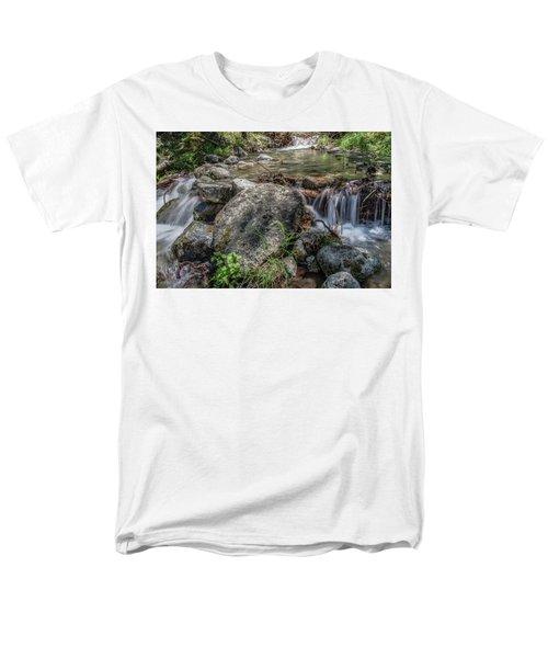 Bridalveil Creek Men's T-Shirt  (Regular Fit) by Ryan Weddle