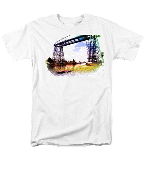 Bridge Men's T-Shirt  (Regular Fit) by Silvia Bruno