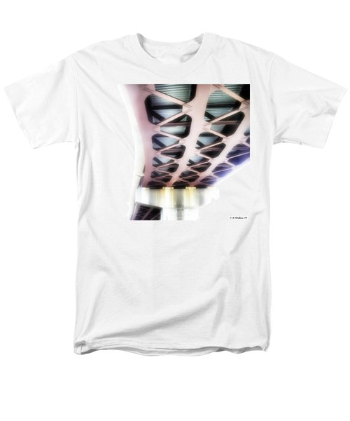 Men's T-Shirt  (Regular Fit) featuring the photograph Bridge To Eternity by Brian Wallace