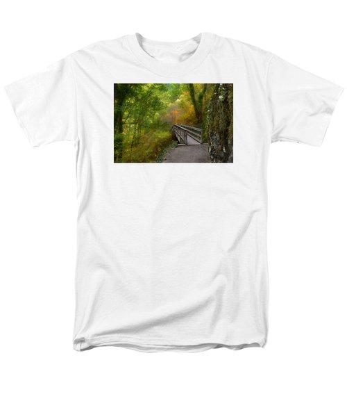 Bridge To Lightness Men's T-Shirt  (Regular Fit) by Laura Ragland