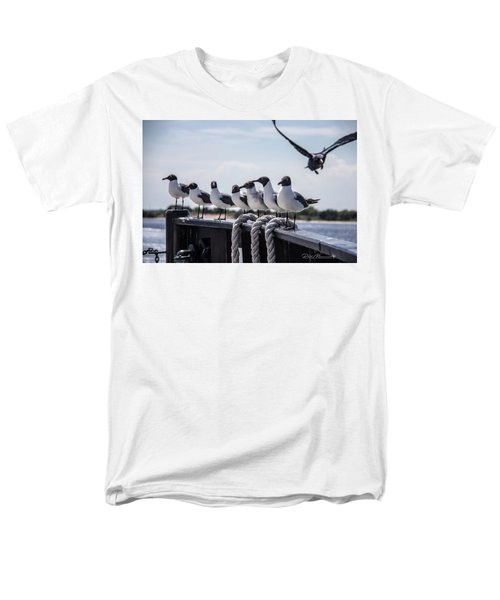 Bringing Up The Rear Men's T-Shirt  (Regular Fit) by Phil Mancuso