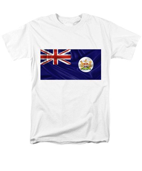 British Hong Kong Flag Men's T-Shirt  (Regular Fit) by Serge Averbukh