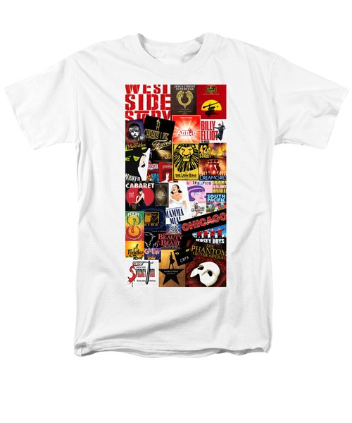Broadway 9 Men's T-Shirt  (Regular Fit) by Andrew Fare