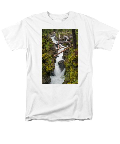 Broiling Rogue Gorge Men's T-Shirt  (Regular Fit) by Greg Nyquist