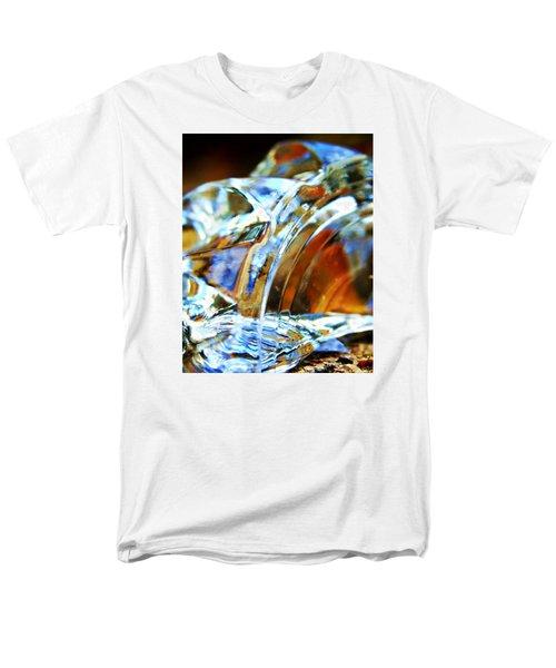 Broken Glass In A Stairwell Men's T-Shirt  (Regular Fit)
