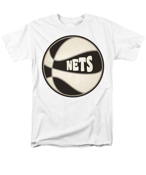 Brooklyn Nets Retro Shirt Men's T-Shirt  (Regular Fit) by Joe Hamilton