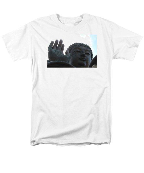 Buddha At Ngong Ping Village, Hong Kong Men's T-Shirt  (Regular Fit) by Jennifer Mazzucco