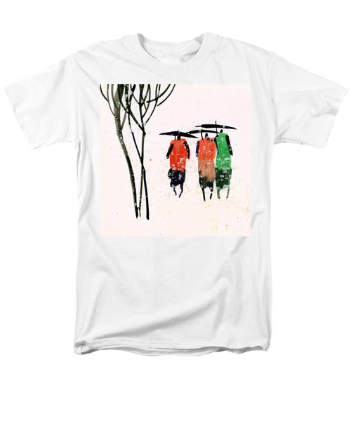 Buddies 3 Men's T-Shirt  (Regular Fit) by Anil Nene