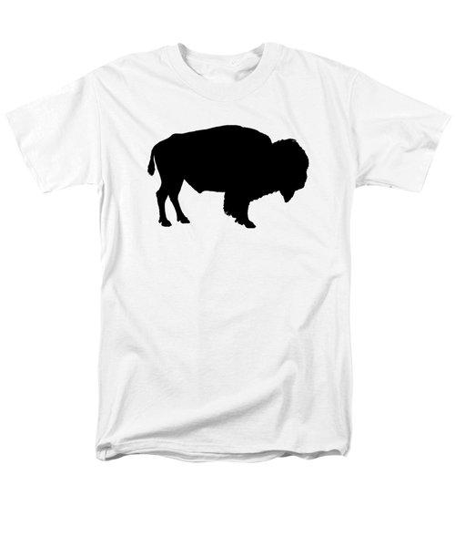 Buffalo Men's T-Shirt  (Regular Fit) by Mordax Furittus
