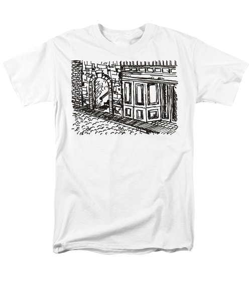 Buildings 2 2015 - Aceo Men's T-Shirt  (Regular Fit) by Joseph A Langley