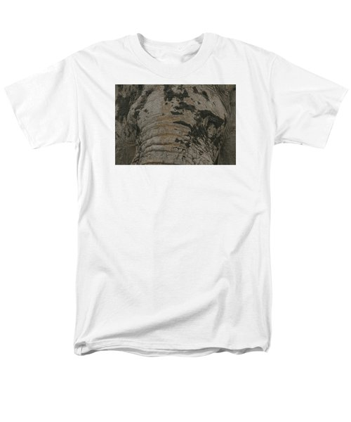 Men's T-Shirt  (Regular Fit) featuring the photograph Bull Elephant Close-up by Gary Hall