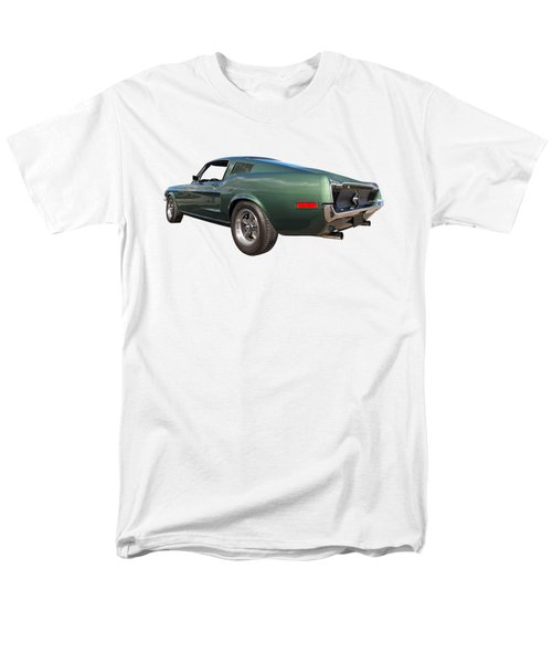 Men's T-Shirt  (Regular Fit) featuring the photograph Bullitt - 1968 Mustang Fastback by Gill Billington