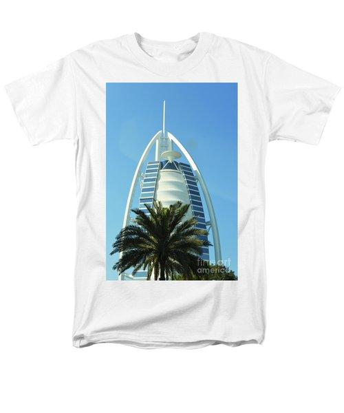 Men's T-Shirt  (Regular Fit) featuring the photograph Burj Al Arab by Hanza Turgul