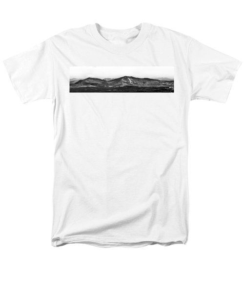 Burke And Cannon Wide Panoramic Men's T-Shirt  (Regular Fit) by Tim Kirchoff
