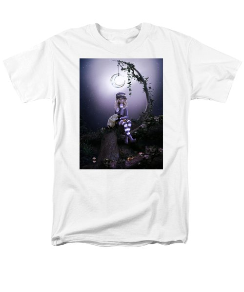 Men's T-Shirt  (Regular Fit) featuring the digital art Busy Doing Nothing by Shanina Conway