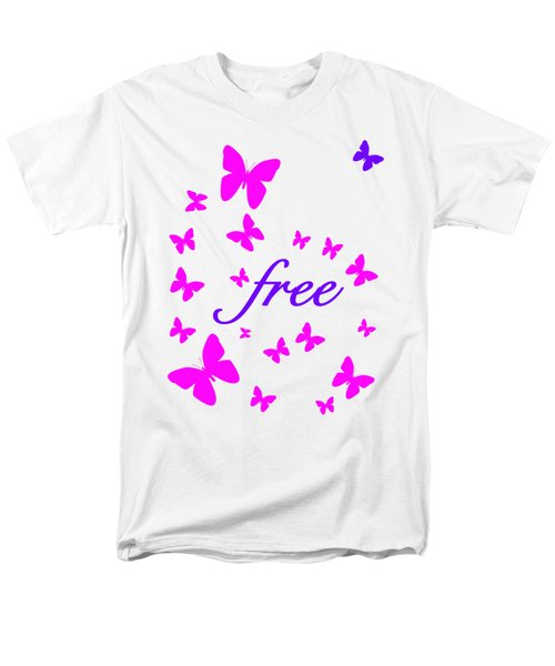 Butterflies Free Men's T-Shirt  (Regular Fit) by Bill Owen