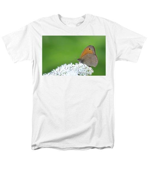 Men's T-Shirt  (Regular Fit) featuring the photograph Butterfly by Bess Hamiti