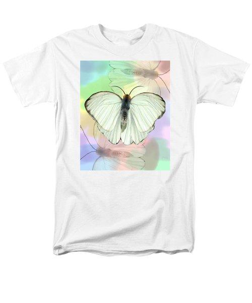 Butterfly, Butterfly Men's T-Shirt  (Regular Fit) by Rosalie Scanlon