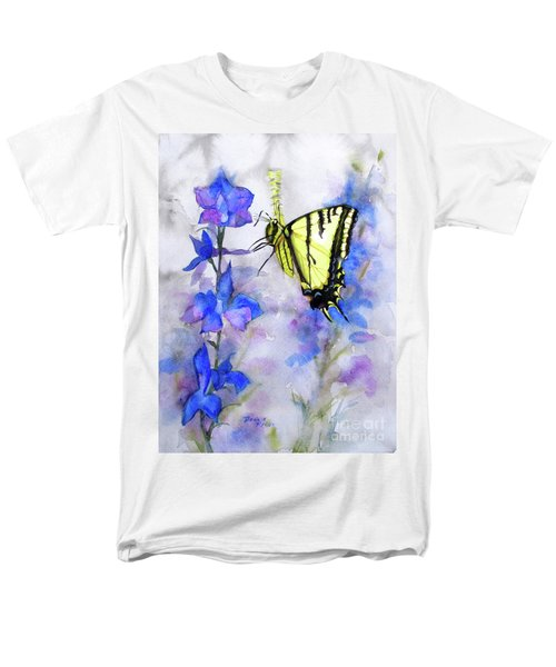 Butteryfly Delight Men's T-Shirt  (Regular Fit) by Bonnie Rinier