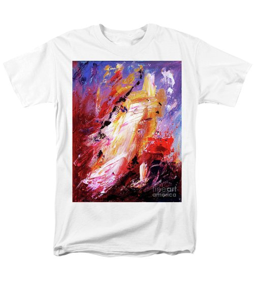 By Herself 3 Men's T-Shirt  (Regular Fit) by Jasna Dragun