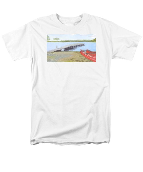 By The Lake Men's T-Shirt  (Regular Fit) by Joanne Perkins