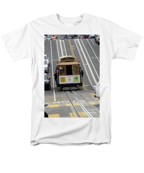Men's T-Shirt  (Regular Fit) featuring the photograph Cable Car by Steven Spak