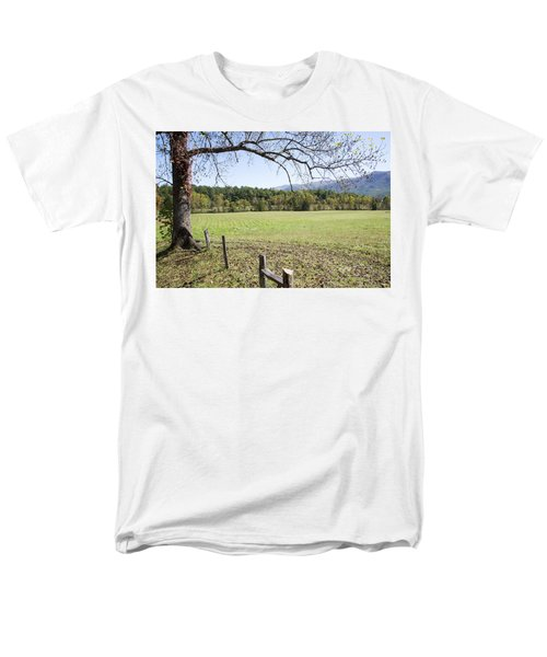 Cades Fence Men's T-Shirt  (Regular Fit) by Ricky Dean