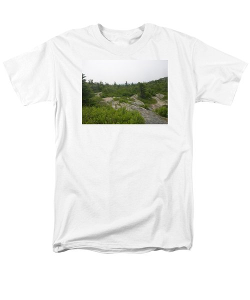 Cadillac Mountain Men's T-Shirt  (Regular Fit) by Helen Haw