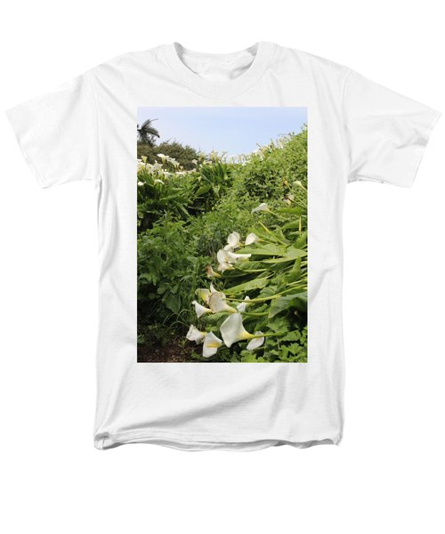 Men's T-Shirt  (Regular Fit) featuring the photograph Cali Can You Hear Me by Marie Neder
