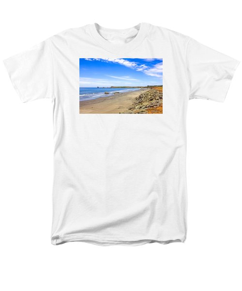California Coastline Men's T-Shirt  (Regular Fit) by Chris Smith