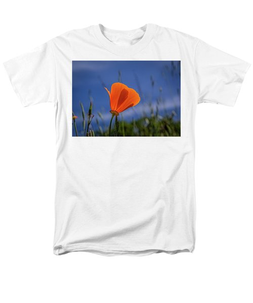 California Poppy Men's T-Shirt  (Regular Fit) by Marc Crumpler