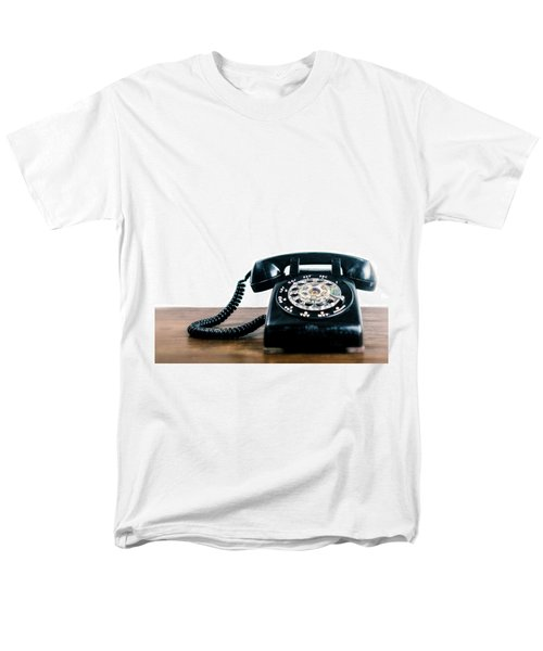 Call Me Let's Do Work. Men's T-Shirt  (Regular Fit) by TC Morgan