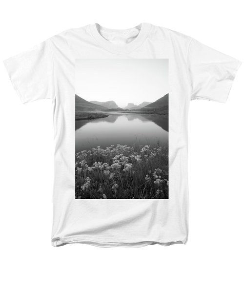 Calm Morning  Men's T-Shirt  (Regular Fit) by Dustin LeFevre