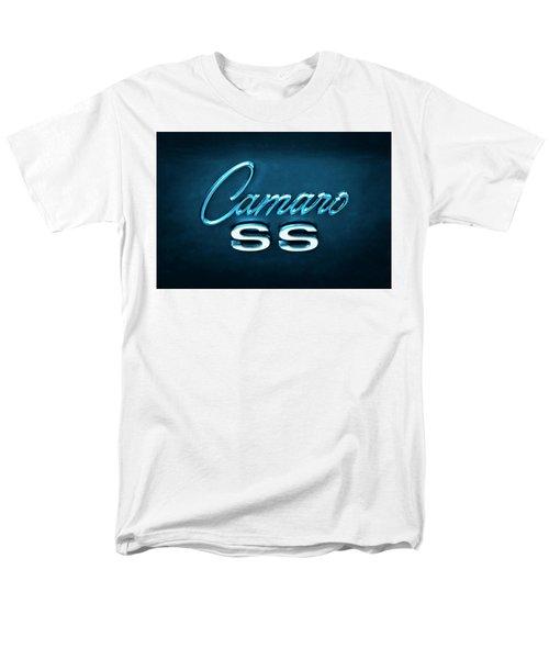 Men's T-Shirt  (Regular Fit) featuring the photograph Camaro S S Emblem by Mike McGlothlen