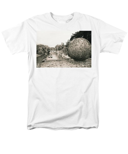Men's T-Shirt  (Regular Fit) featuring the photograph Cambridge Punting  by Eden Baed