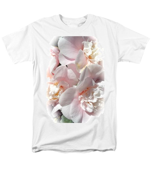 Camellias Softly Men's T-Shirt  (Regular Fit) by Michele Myers