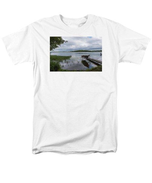 Camelot Island From Wilderness Point Men's T-Shirt  (Regular Fit) by Gary Eason
