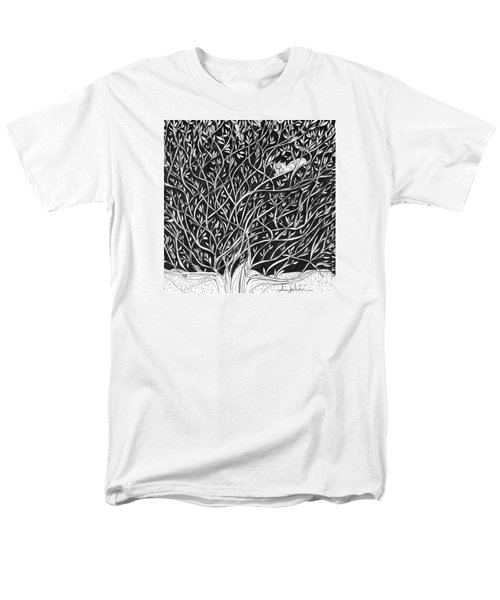 Can You See Me? Men's T-Shirt  (Regular Fit) by Lou Belcher