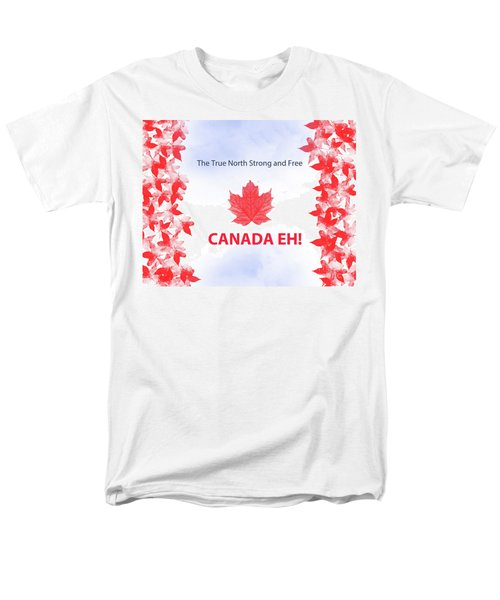 Canada Day 2016 Men's T-Shirt  (Regular Fit) by Trilby Cole