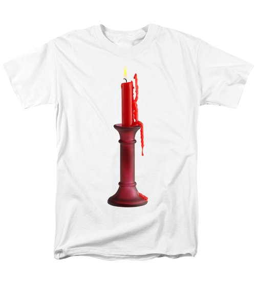 Candle Men's T-Shirt  (Regular Fit) by George Atsametakis