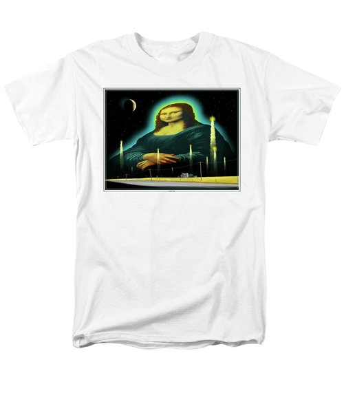 Men's T-Shirt  (Regular Fit) featuring the digital art Candles For Mona by Scott Ross