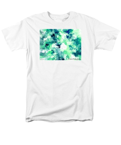 Men's T-Shirt  (Regular Fit) featuring the painting Can't Stop Smiling by Holley Jacobs