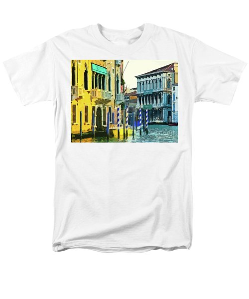 Men's T-Shirt  (Regular Fit) featuring the photograph Ca'rezzonico Museum by Tom Cameron