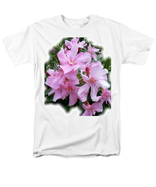 Men's T-Shirt  (Regular Fit) featuring the photograph Caribbean Oleander by Marie Hicks