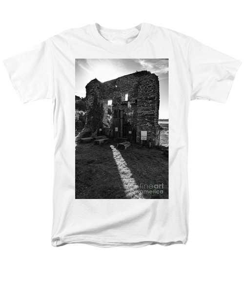 Men's T-Shirt  (Regular Fit) featuring the photograph Photographs Of Cornwall Carnon Mine by Brian Roscorla