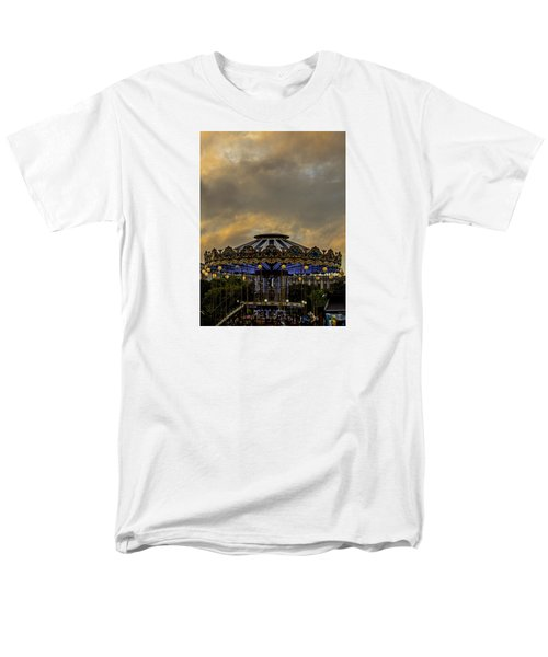 Carousel By The Eiffel Tower Men's T-Shirt  (Regular Fit) by Jean Haynes
