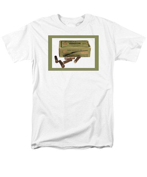 Cartridges For Rifle Men's T-Shirt  (Regular Fit) by Susan Leggett