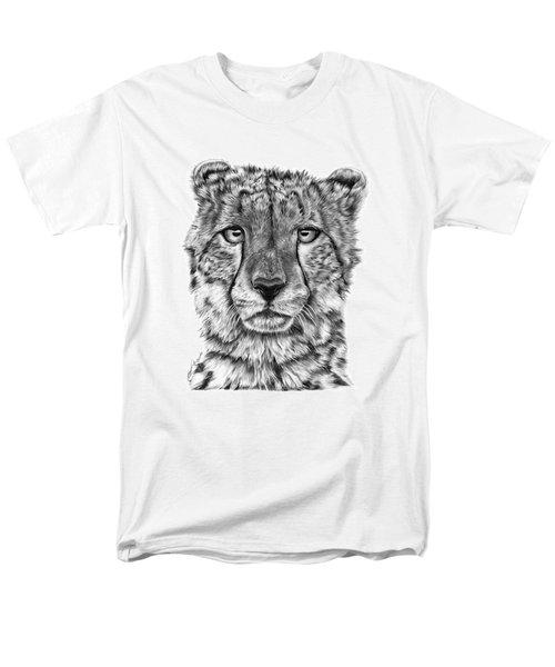 Cassandra The Cheetah Men's T-Shirt  (Regular Fit) by Abbey Noelle